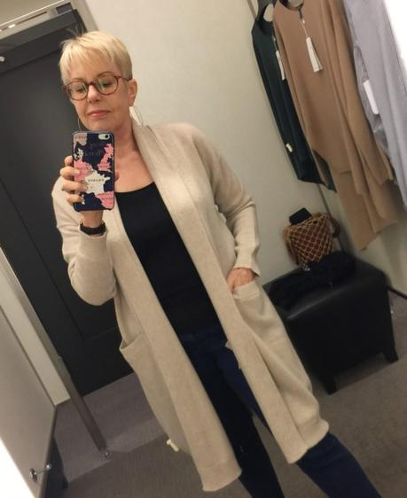 Vince long cashmere cardigan from the Nordstrom Anniversary Sale