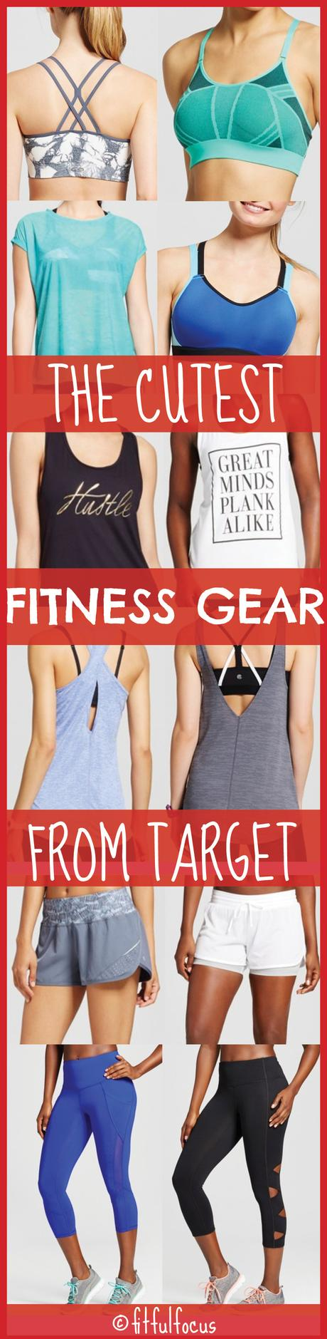 The Cutest Fitness Gear From Target