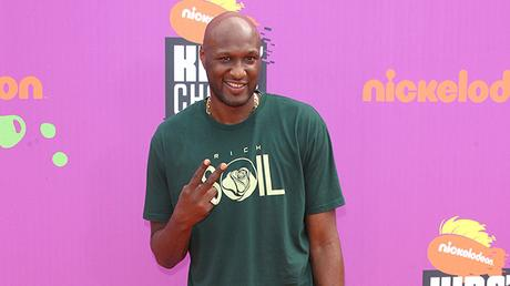 "LAMAR ODOM OFFERS ADVICE TO ROB KARDASHIAN ""STAY STRONG PUT GOD FIRST!"""