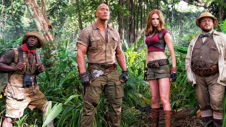 "WATCH: JUMANJI ""WELCOME TO THE JUNGLE"" OFFICIAL TRAILER STARRING THE ROCK & KEVIN HART"