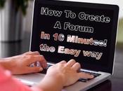 Create Forum Minutes! Easy