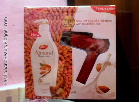 Dabur Almond Shampoo for Intense Nourishment Review