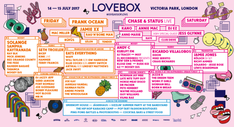 Lovebox '17 – Saturday Picks