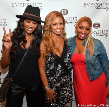 RHOP GIZELLE BRYANT HOSTS POP UP SHOP AT RHOA NENE LEAKES SWAGG BOUTIQUE
