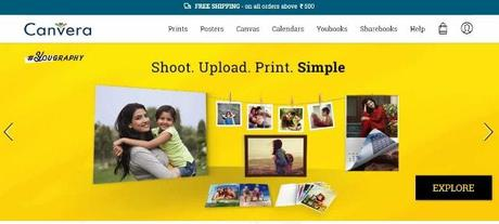 Want to print photos online in India? Check out Canvera