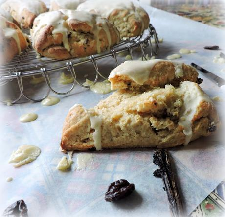Sour Cherry & Vanilla Scones
