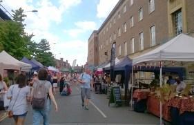 St Peters Street stalls
