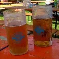Buckets of beer