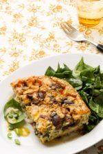 Mushroom and Cheese Frittata