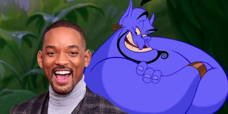 WILL SMITH SET TO PLAY THE GENIE IN DISNEY'S ALADDIN LIVE ACTION