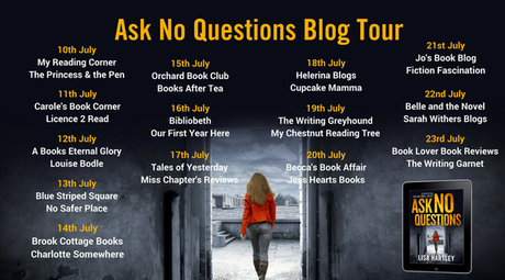Blog Tour – Ask No Questions by Lisa Hartley