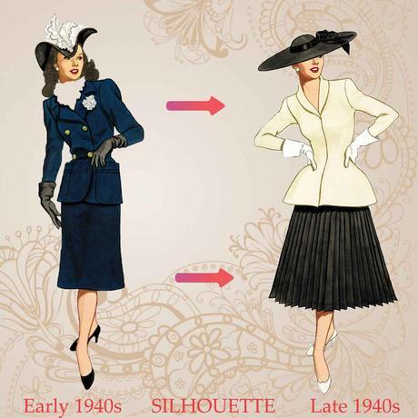 1940s-fashion-silhouette