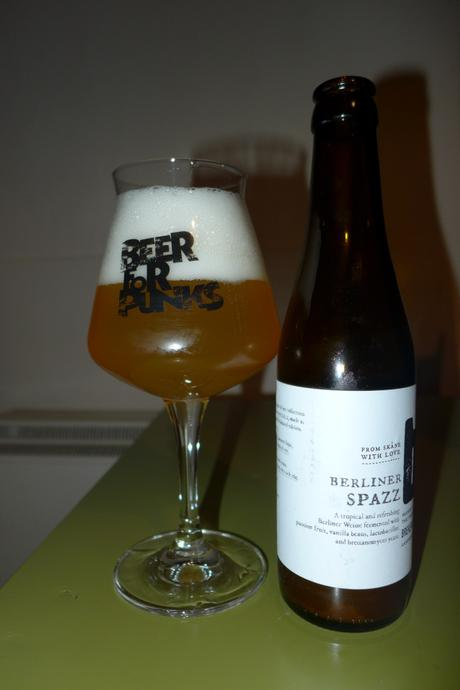 Tasting Notes:  Brekeriet: Berliner Spazz
