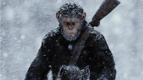 "'WAR FOR THE PLANET OF THE APES"" WINS THE WEEKEND BRINGS IN $56.5 OPENING WEEKEND"