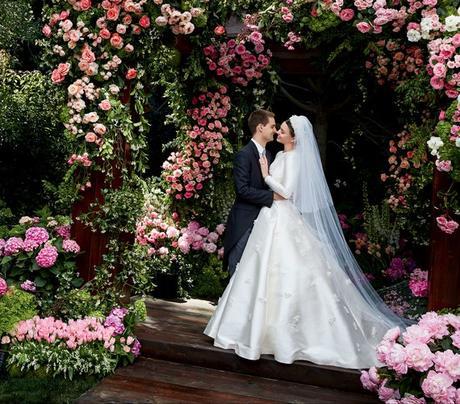 MIRANDA KERR 'GRACE KELLY' INSPIRED WEDDING TO SNAPCHAT FOUNDER EVAN SPIEGEL