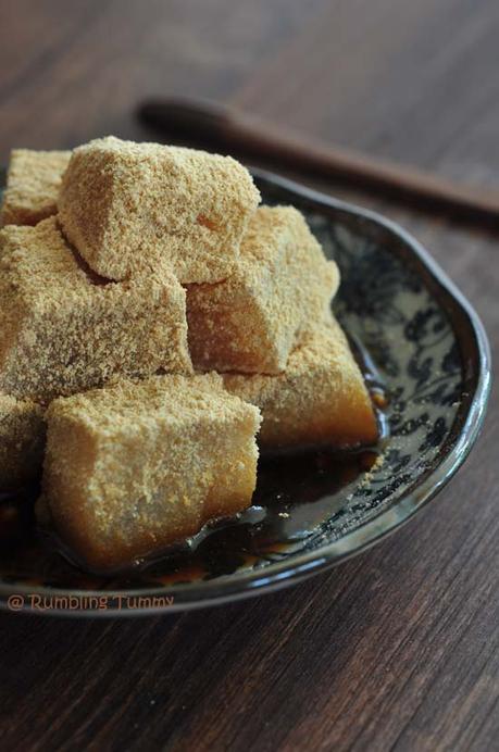Warabimochi  わらび餅