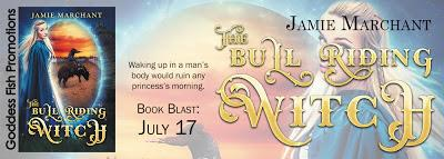 The Bull Riding Witch by Jamie Marchant  @goddessfish @JamieMarchantSF
