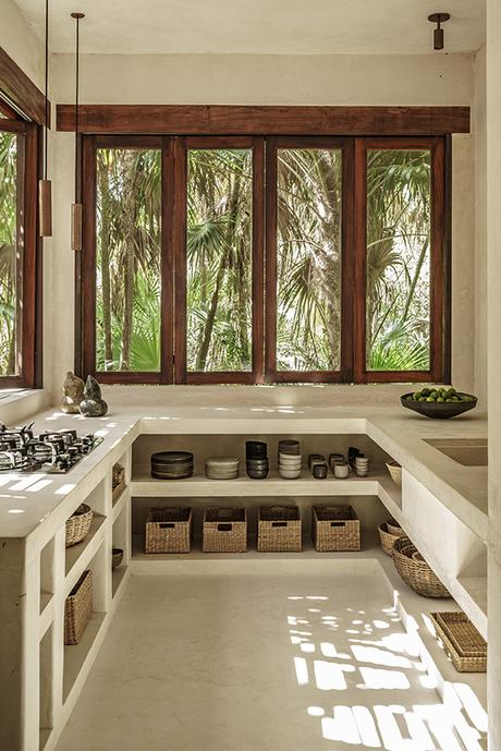 Tulum Treehouse, design by Co-Lab Joanna Gomez and Joshua Beck, interior concept and curation by Annabell Kutucu, photo by Brechenmacher & Baumann Photography