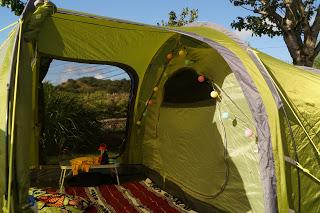 Our tent in Donegal - www.growourown.com