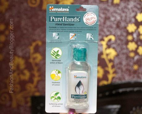 Fabb Review – Himalaya PureHands Hand Sanitizer Review