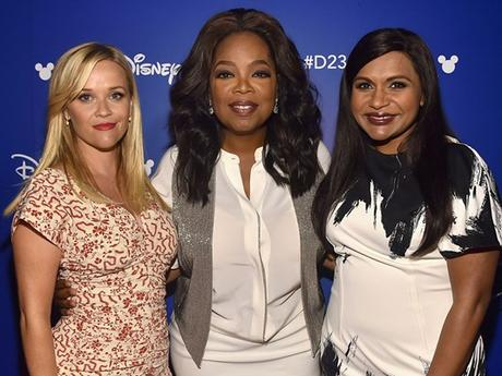 "OPRAH WINFREY IS DISHING ON HOW FUN IT WAS WORKING WITH REESE WITHERSPOON & MINDY KALING ON ""A WRINKLE IN TIME"""