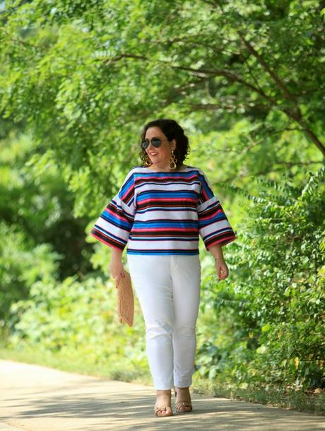 What I Wore: Candy Stripes