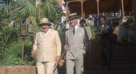 David Niven's Taupe Suit in Death on the Nile