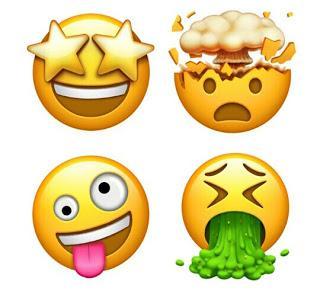 New Apple Emoticons