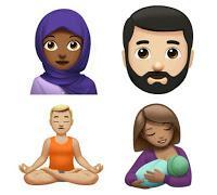 New Apple Emoji (Human Category)