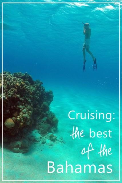 snorkeling coral reef Bahamas