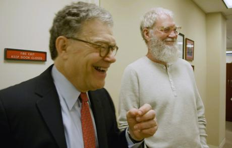Funny or Die: Franken and Letterman take on climate change in hilarious web series