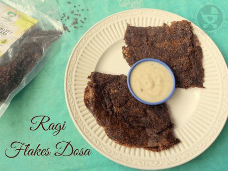 Ragi Flakes Dosa Recipe