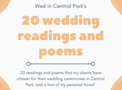 Wedding Readings Poems