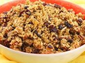 Cranberry Pecan Granola #BacktoSchoolRecipes