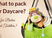 What Pack Daycare (for Babies Toddlers)