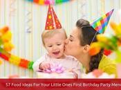 Healthy Year Birthday Party Food Ideas Impress Little Tummies