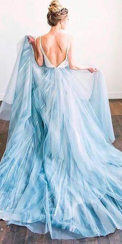 21 Adorable Blue Wedding Dresses For Celebration