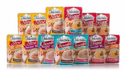 Delectables Lickable Treats: Healthy and Delicious Treats for Your Cat ~ Plus Enter to Win Free Treats!