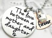Love Between Mother Daughter Forever Necklace