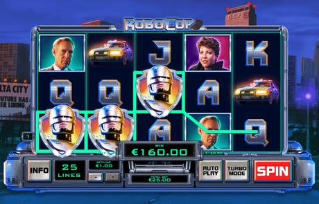 Playtech Robocop Slot
