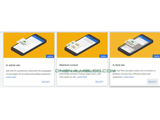 Google AdSense Introduces In-feed, In-article, Matched Content