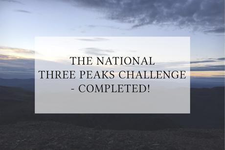 THE NATIONAL THREE PEAKS CHALLENGE