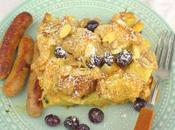 Blueberry Baked French Toast #NationalBlueberryMonth