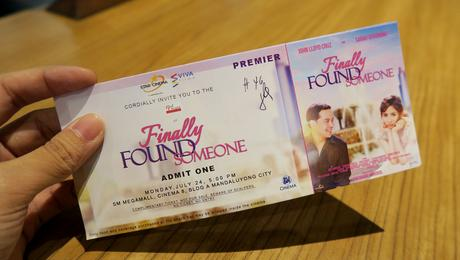 OPPO F3 Sarah Geronimo Limited Edition and Finally Found Someone Premiere Night