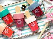 Review/Swatches: Etude House Dear Darling Water Tint Shades