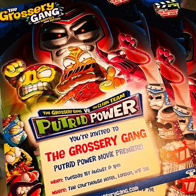 The Grossery Gang Putrid Power Movie Excitement!