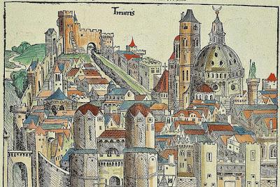 Dynamics of medieval cities