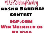 Raksha Bandhan Contest with IGP.com #IGPSiblingRivalry
