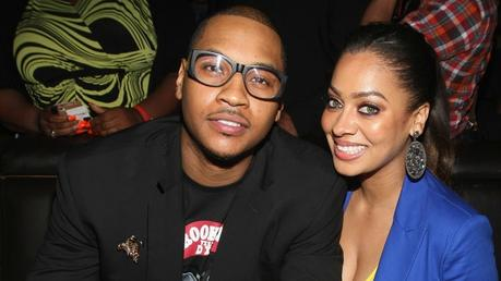 FIGHT FOR YOUR GIRL: CARMELO ANTHONY POST PIC OF ESTRANGED WIFE LALA ANTHONY