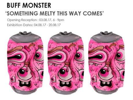 StolenSpace presents a new solo show by BUFF MONSTER